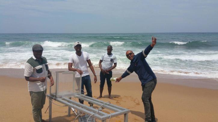 Ocean Wave Prototype